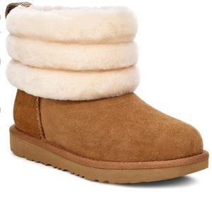 New Ugg Fluff Mini Quilted Boot